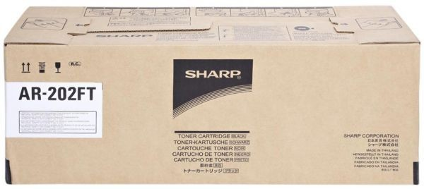 Тонер картридж SHARP AR-202FT